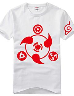 Innoittamana Naruto Itachi Uchiha Anime Cosplay-asut Cosplay T-paita Painettu Lyhythihainen T-paita Käyttötarkoitus Unisex