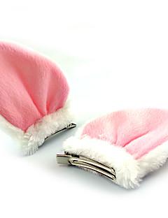 Lolita Accessoires Schattig Hoofddeksels Prinses Zwart Wit Lolita-accessoires Hoofddeksels Patchwork Voor Fleece