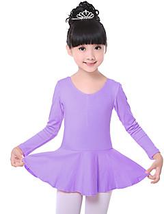 우리가해야한다 발레 드레스 어린이 훈련 1 조각 발레 드레스 ruched