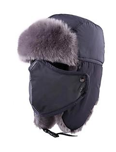 Gorro Chapka Chapéu de Pelo Esqui Chapéu Mulheres Homens Unisexo Térmico/Quente A Prova de Vento Á Prova-de-Pó Pranchas de Snowboard