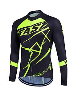 Fastcute Fahrradtrikot Herrn Damen Kinder Unisex Langarm Fahhrad Sweatshirt Trikot/Radtrikot Oberteile warm halten Rasche Trocknung