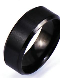 Homens Anéis Grossos Estilo Punk Rock Personalizado bijuterias Liga Formato Circular Jóias Para Diário Casual Presentes de Natal