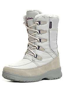 מגפיים עד אמצע השוק-לנשים-ספורט שלג(לבן / אפור בהיר / חום)