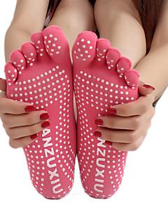 Mulheres Meias Meias Esportivas Meias de Dedo Meias Antiderrapantes Ioga Pilates Respirável Vestível Anti-Derrapagem Confortável Protecção