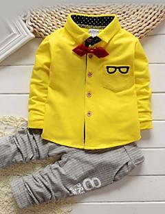Jungen Kleidungs Set - Baumwolle Druck Frühling / Herbst