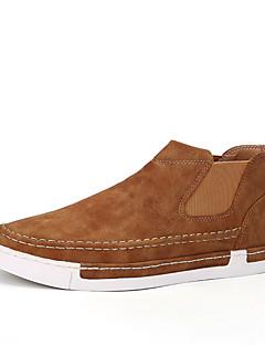 Bărbați Adidași Confortabili Pantofi vulcanizați Piele Microfibre Primăvară Vară Toamnă Iarnă De Atletism Casual Party & Seară