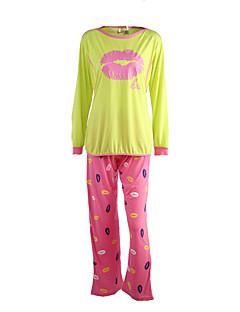 äitiys muoti huuli tulostaa imettävät pyjamat vaatteet sarja
