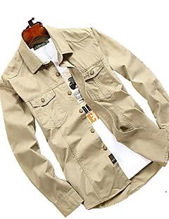 Homens Camisa de Trilha Secagem Rápida Respirável Camisa Blusas para Primavera L XL XXL XXXL XXXXL