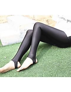 Dames Effen Polyester Dun Effen kleur,Legging Deze stijl klopt precies met de maat.
