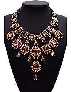 Dame Uttalelse Halskjeder Smykker Smykker Edelsten Legering Mote Euro-Amerikansk kostyme smykker Smykker Til Fest