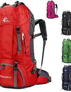 60 L mochila Mochila para Excursão Pacotes de Mochilas Mochilas de Escalada Viagem Duffel Capas de Mochila Organizador de ViagemCaça