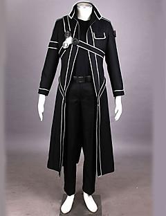 Inspiré par Sword Art Online Kirito Manga Costumes de Cosplay Costumes Cosplay Couleur Pleine Manches LonguesPantalon Gants Sous-vêtement