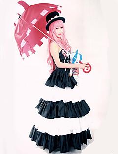 Inspiré par One Piece Perona Manga Costumes de Cosplay Costumes Cosplay Robes Rétro Sans Manches Robe Chapeau Pour Féminin