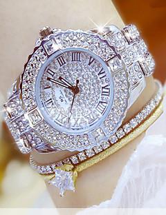 בגדי ריקוד נשים שעוני שמלה שעוני אופנה שעון יד שעון צמיד ייחודי Creative צפה שעונים יום יומיים יהלוםSimulated שעון שעון משובץ אבנים