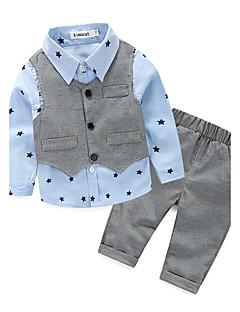Jungen Sets Galaxis Baumwolle Polyester Frühling Herbst Kleidungs Set