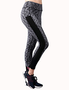 Yogabukser Tights Bunner Stretch Naturlig Stretch Drakter Dame BARBOK Yoga & Danse Sko Løper Pilates Dans