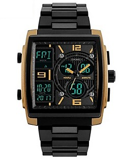 Herre Barn Sportsklokke Militærklokke Moteklokke Armbåndsur Unike kreative Watch Hverdagsklokke Digital Watch Kinesisk Quartz DigitalLED