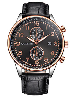 Pánské Hodinky k šatům Módní hodinky Náramkové hodinky Unikátní Creative hodinky Hodinky na běžné nošení čínština KřemennýKalendář Velký