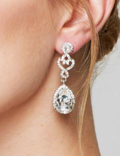 Damen Tropfen-Ohrringe Ohrring Modisch Elegant Brautkleidung Modeschmuck Diamantimitate Aleación Tropfen Schmuck Für Hochzeit Party