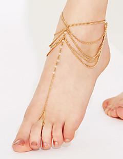 Dámské Nákotník/Náramky Křišťál Korálky Vícevrstvé Bikini bižuterie Šperky Šperky Pro Párty Plážové