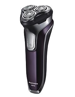 flyco fs376 3d flytende hode oppladbart bærbar kropp vaskbar elektrisk barbermaskin ledet lys