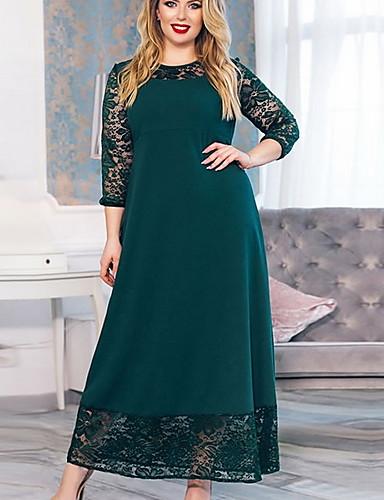 c992e966b688 economico Vestiti da donna-Per donna Essenziale Swing Vestito - Collage