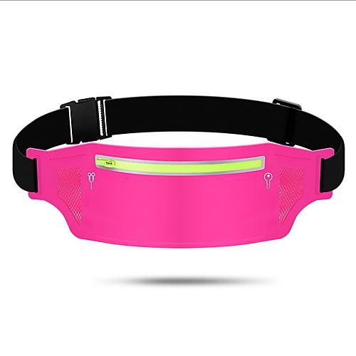 Fanny Pack Running Waist Belt Waist Bag / Pack for Running Outdoor Exercise Outdoor Sports Bag Portable Lightweight Durable Tactel Cotton Running Bag Adults