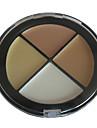 palette de maquillage naturel finition correcteur n ° 2 (4 couleurs)