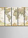 toile set Classique Realisme,Cinq Panneaux Verticale Imprimer Art Decoration murale For Decoration d\'interieur