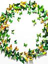 #D Perete Postituri 3D Acțibilduri de Perete Autocolante de Perete Decorative Autocolante de Frigider,Vinil Material DetașabilPagina de