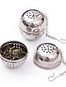oțel inoxidabil infuser ceai filtru ochiurilor de plasă filtru de blocare condiment pasă în 8.5x4.5x4cm