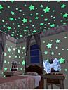 Forme Perete Postituri Autocolante perete luminoase Autocolante de Perete Decorative,Vinil Material Detașabil Pagina de decorarede perete