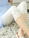 Feminin Culori Mate Jerpeliți Legging,Amestecuri de Bumbac Mediu
