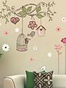 Crăciun / Florale / Vacanță / Peisaj Perete Postituri 3D Acțibilduri de Perete , pvc 50x70x0.1cm