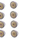 7W GU5.3(MR16) Spot LED MR16 48 SMD 2835 600 lm Blanc Chaud Decorative DC 12 V 8 pieces