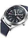 Bărbați Ceas Sport Ceas Militar Ceas La Modă Ceas de Mână Quartz Calendar Rezistent la Apă Material Bandă Vintage Cool Casual LuxosNegru