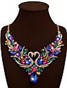 Pentru femei Coliere Coliere cu Pieptar Animal Shape Lebădă Piatră Preţioasă Ștras Aliaj Bohemia Stil Bijuterii Statement bijuterii de