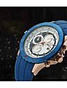 Bărbați Ceas Sport Ceas Militar Ceas La Modă Ceas de Mână Quartz Calendar Piele Autentică Bandă Vintage Casual Multicolor
