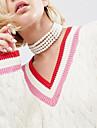 Pentru femei Coliere Choker Imitație de Perle Obsidian Bijuterii Imitație de PerleImitație de Perle Personalizat Euramerican Confecționat