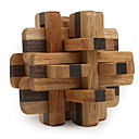 cheap Wooden Puzzles-Magic Cube Wooden Puzzle IQ Brain Teaser Professional Level Speed Wooden 12pcs Classic & Timeless Boys' Gift