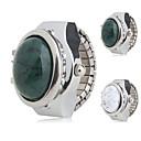Χαμηλού Κόστους Ρολόι Δαχτυλίδι-Γυναικεία κυρίες Ρολόι Δαχτυλίδι Ιαπωνικά Χαλαζίας Καθημερινό Ρολόι κράμα Μπάντα Αναλογικό Φυλαχτό Μοντέρνα Ασημί - Λευκό Πράσινο