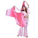 hesapli Göbek Dansı Giysileri-Dans Aksesuarları Sahne Malzemeleri Kadın's Performans İpek