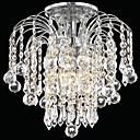 povoljno Flush Mount rasvjeta-QINGMING® 3-Light Flush Mount Ambient Light - Crystal, Mini Style, 110-120V / 220-240V Bulb not included / 30-40㎡ / E12 / E14