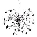 halpa Plafondit-Sputnik Pendant Lights Kristalli, Minityyli, 110-120V / 220-240V Polttimo mukana toimituksessa / 50-60㎡
