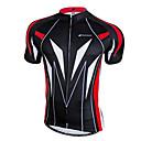 baratos Camisas Para Ciclismo-Nuckily Homens Manga Curta Camisa para Ciclismo - Amarelo / Vermelho / Azul Moto Camisa / Roupas Para Esporte, Secagem Rápida, Respirável