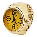 hesapli Yüzük Saat-Kadın's Yüzük Saat Japonca Quartz Gündelik Saatler Alaşım Bant Analog İhtişam Moda Altın Rengi Bir yıl Pil Ömrü / SSUO LR626