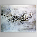 cheap Oil Paintings-Hand-Painted Abstract Horizontal One Panel Canvas Oil Painting For Home Decoration