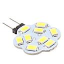 halpa LED-spottivalaisimet-2w g4 led-bi-pin valot 9 smd 5630 200-250lm luonnonvalkoinen 6000k dc 12v