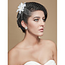 cheap Party Headpieces-Blusher Veils / Charms / Accessory Party Accessories Party / Party / Evening Classic Theme / Holiday Material / Birdcage / Cut Edge