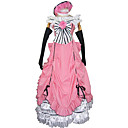 hesapli Anime Kostümleri-Esinlenen Black Butler Ciel Phantomhive Anime Cosplay Kostümleri Cosplay Takımları / Elbiseler Kırk Yama Kolsuz Elbise / Eldivenler / Fiyonk Uyumluluk Erkek / Kadın's